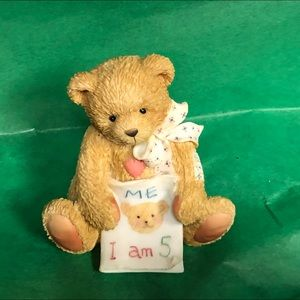 cherished teddies age 5 color me five